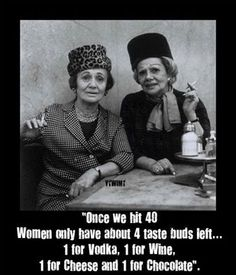Women in their 40s...