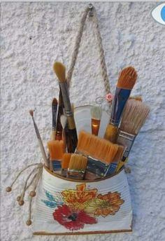 Tin Can Crafts, Diy And Crafts, Arts And Crafts, Tin Can Art, Crafts With Pictures, Country Decor, Decorating Tips, Art For Kids, Art Projects