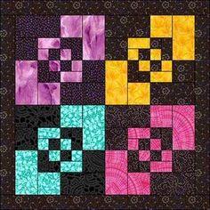 Amish quilt block