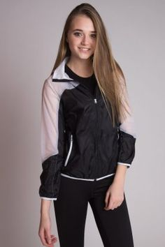Track jacket! Perfect for Spring jogs outside!