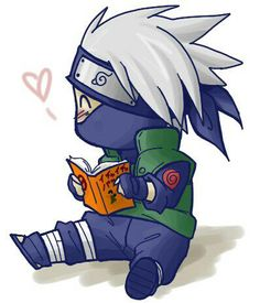 Chibi Kakashi - tehee :D he's my favorite and I have only watched a few episodes! He will forever be MY favorite.