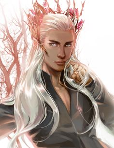 Thranduil by Athena-chan.deviantart.com on @deviantART  Beautiful. Manly. Royal.