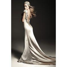 1930s Wedding Dress Viva found on Polyvore