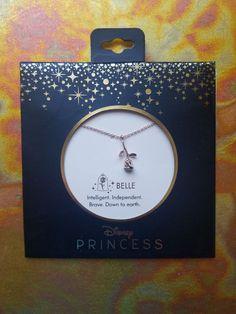 Disney Princess Bell Rose Necklace on Mercari Disney Princess Jewelry, Disney Inspired Jewelry, Disney Couture Jewelry, Disney Jewelry, Disney Necklace, Cute Necklace, Cute Jewelry, Jewelry Accessories, Jewelry Design