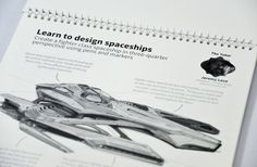 Jeremy Love shares his techniques for creating a fighter class spaceship in Sketch Workshop: Robots & Spaceships http://bit.ly/1pYZCvw