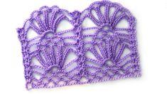 Openwork crochet pattern Daisies