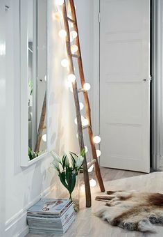 There is nothing like light installations to light up the night and add ambiance to a room