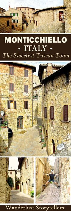 There is more to Tuscany Italy than Pienza and Volterra. Click to read about one of the smallest and sweetest little Tuscany Villages. Monticchiello should be on everyone's list who wishes to travel to Italy. Travel in Europe.