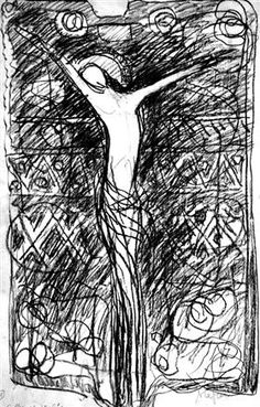 """""""CRUCIFICCIÓN DE NUESTRO SEÑOR"""" POR GEORGE STEFANESCU. 1975."""