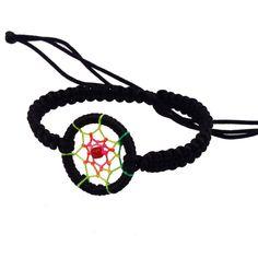 New Leather Cute Charm Campanula Dream Catcher Bracelet Colorful