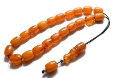 Amber color Bakelite, Worry Beads, Komboloi, 21 Beads, Bakelite Mixture, Amber filings, Greek Komboloi, Tesbih, Stress Relief, Relaxation Amber Color, Stress Relief, Product Design, Decorative Items, Men's Style, Greek, Beaded Bracelets, Mens Fashion, Beads