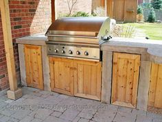 Outdoor Kitchen On Pinterest Diy Outdoor Kitchen Outdoor Kitchens