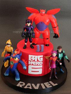 Big Hero 6 Cake | Explore Simply Cupcake's photos on Flickr.… | Flickr - Photo Sharing!