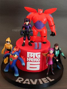 Big Hero 6 Cake   Explore Simply Cupcake's photos on Flickr.…   Flickr - Photo Sharing!