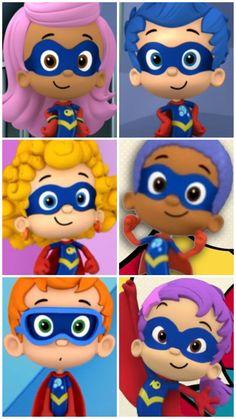 Nick Jr, Bubble Guppies, Guppy, Save The Day, Season 3, Cape, Bubbles, Portrait, Kids