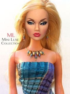 Doll Jewelry for Fashion Royalty dolls Poppy by MiniLuxeCollection, $25.00