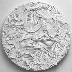 Jason Martin 'Zocalo' (Titanium white) 2010 Pure pigment on aluminum