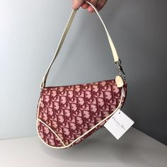 Dior Saddle Bag, Saddle Bags, Vintage Purses, Vintage Bags, Dior Vintage, Christian Dior, Sacs Design, Mini Handbags, Vuitton Bag
