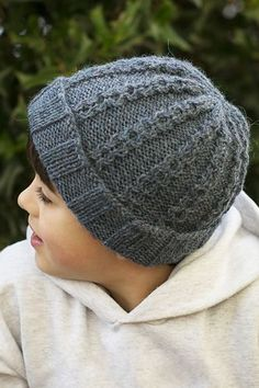 61790c5f5f3 This hat is a free pattern! Beanie Knitting Patterns Free