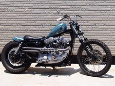ϟ Hell Kustom ϟ: Harley Davidson Sportster XL883 2000 By Selected C...