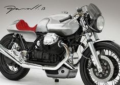 Moto Guzzi Le Mans 3 custom Tail and Front on Behance Cafe Racer Style, Cafe Racer Bikes, Cafe Racers, Moto Guzzi Motorcycles, Cool Motorcycles, Scrambler, Custom Bobber, Custom Bikes, Motorbike Design