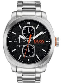 237ce4f35 Hugo Boss Orange Cape Town Men's 46mm Case Watch with Black Dial 1550029 |  WatchO™