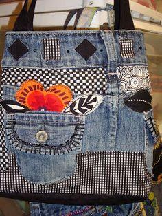 Blue Jeans Purse