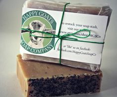 smells amazing. Happy Goats Happy Gardener Soap by HGSCo on Etsy