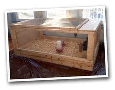 Chicken Brooder Run Plans. (Use as brooder and then add to run/coop.