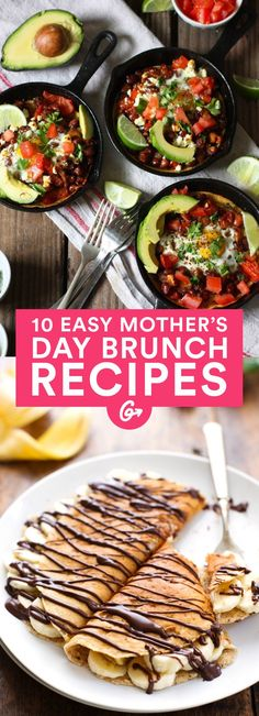 Show Mom some seriously delicious love on Sunday with these easy-to-make meals—#brunch #recipes http://greatist.com/eat/10-easy-brunch-recipes-mothers-day