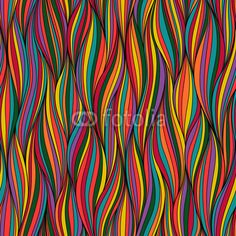 Wall Mural waves - Photo Wallpaper - vector • PIXERSIZE.com