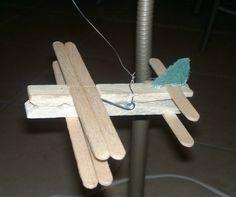 Ξύλινο αεροπλάνο/ Wooden airplane
