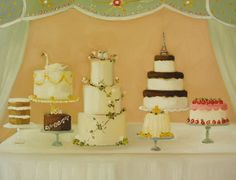 dessert table print by janet hill