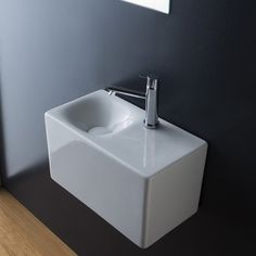 "Found it at Wayfair - Cube Rectangular 16.5"" Wall Mounted Bathroom Sink"