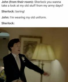 #Johnlock I'd be there in a second