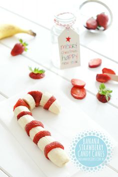 The healthiest candy canes we've ever seen. #onehandedcooks