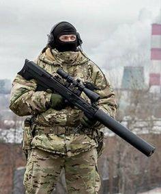 Vykhlop-RU sniper rifle