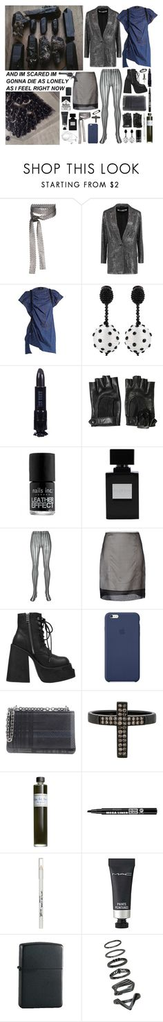 """I hate quiet life"" by nothingisnormal ❤ liked on Polyvore featuring Fallon, McQ by Alexander McQueen, Rachel Comey, Oscar de la Renta, Anna Sui, Salvatore Ferragamo, Dolce&Gabbana, Maison Margiela, UNIF and Prada"