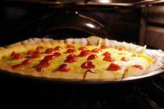 Voici une recette simple et bonne. Avec une petite salade c'est parfait. Ingrédients: Une pâte brisée (vous pouvez aussi...