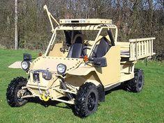 These vehicles are based on the Israeli designed, U.S. built Tomcar all-terrain vehicle (ATV) platform