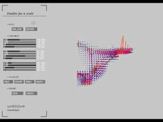 Studies based on the exploration of agents interaction with a 3d vector field describing principal stresses inside a defined volume via http://synth-e-techmorph.blogspot.tw/