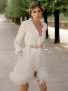 itscouture:    Elisa Sednaoui| Giambattista Valli Fall 2011 Couture |Madame Figaro August 2011