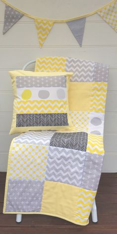 Image of Pastel Yellow & Grey Collection