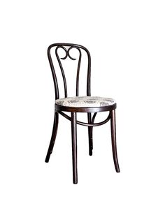 Early 20th Century Candy Cane Bentwood Cafe Chair