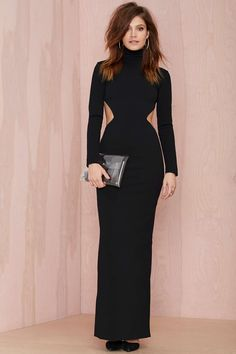 Solace London Bougie Cutout Dress | Shop Dresses at Nasty Gal