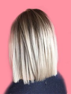 17 Attractive Straight Medium Length Hairstyles Ideas for Ladys Beauty Page 9 of 17 ShowmyBeauty Medium Length Cuts, Medium Length Hair Straight, Medium Hair Cuts, Medium Hair Styles, Curly Hair Styles, One Length Hair, Choppy Bob Hairstyles, Medium Straight Hairstyles, Hair Today