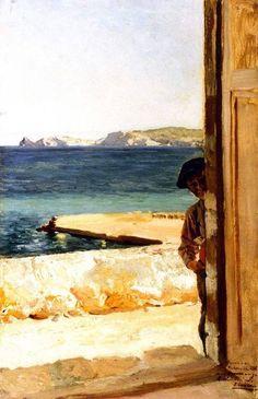 1896 Joaquín Sorolla y Bastida - Xiquet de Jávea