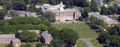 my first home from home... University of Saint Joseph, CT