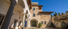 LUXURY CASTLE FOR SALE IN TUSCANY ITALY | Lionard