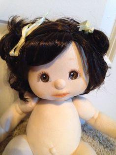 Mattel My Child Doll Brunette Topknot Cutie